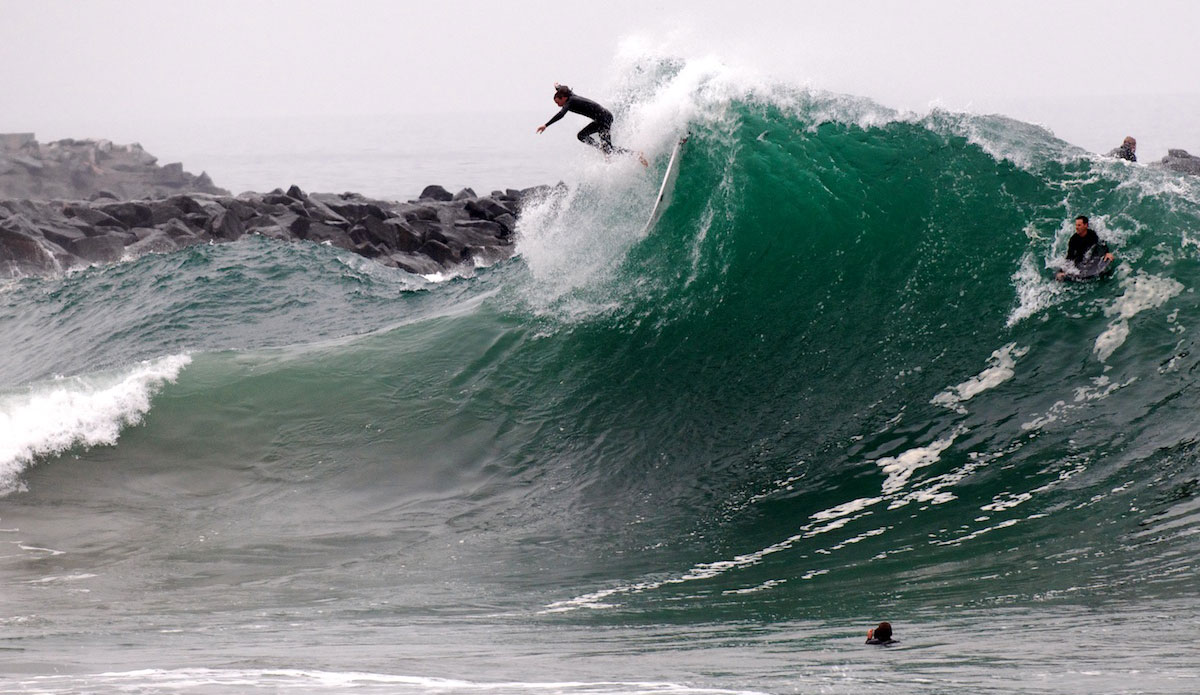Surfing is definitely one of the most extreem sports